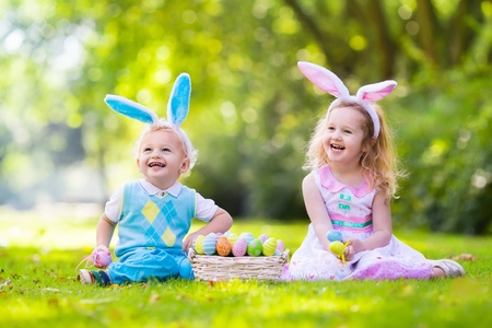 kids on Easter